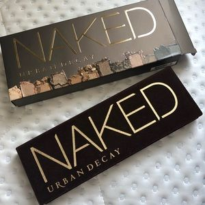 NIB urban decay naked pallet